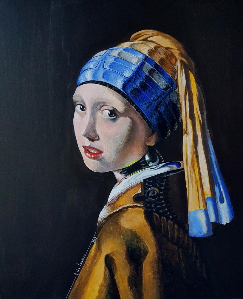 Johannes Vermeer par alainmetisse